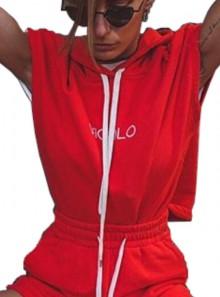 Vicolo FELPA SMANICATA - RK0474 Red - Tadolini Abbigliamento