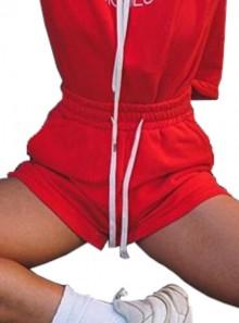 Vicolo PANTALONCINO IN FELPA - RK0439 Red - Tadolini Abbigliamento