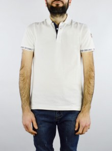 POLO SHIRT WITH CONRASTING PLACKET
