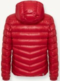 GLOSSY DOWN JACKET WITH PERSONALISED LINING