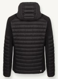 DOWN JACKET WITH NEOPRENE DETAILS