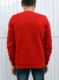 CREW-NECK SWEATSHIRT WITH MAXI LOGO