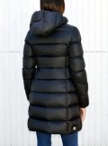 GLOSSY DOWN JACKET WITH HOOD