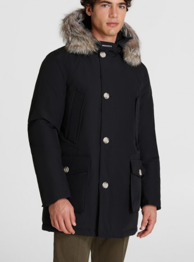Woolrich ARCTIC PARKA CON PELLICCIA RIMOVIBILE - CFWOOU0270MRUT0108 NBL - Tadolini Abbigliamento