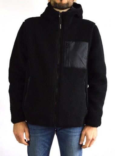 Woolrich FELPA REVERSIBILE IN SHERPA - CFWOTS0017MRUT2395 - Tadolini Abbigliamento