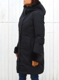 Woolrich LUXURY BOULDER COAT FF CON PELLICCIA SINTETICA - CFWWOU0320FRUT0573 - Tadolini Abbigliamento