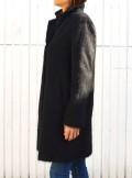 BRUSHED WOOL CLOTH COAT