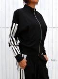 TwinSet FELPA CON PIZZO E RASO - 202TP225D - Tadolini Abbigliamento