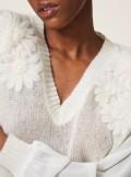 TwinSet MAGLIA IN MOHAIR CON RICAMO - 202TP3260 03363 - Tadolini Abbigliamento