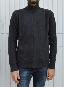 FULL ZIP WOOL SWEATER