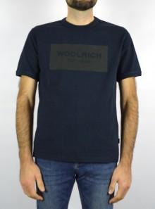 Woolrich AMERICAN T-SHIRT - CFWOTE005MRUT2341 3989 - Tadolini Abbigliamento