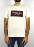 Woolrich AMERICAN T-SHIRT - CFWOTE005MRUT2341 8270 - Tadolini Abbigliamento