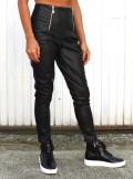 TwinSet LEGGINGS IN SIMILPELLE CON BANDE LATERALI - 202TP2062 - Tadolini Abbigliamento