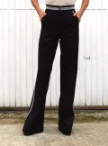 FLARED TROUSERS WITH STUDS