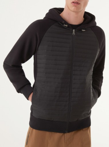 ULTRASONIC SWEATSHIRT WITH HOOD