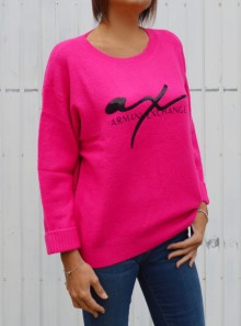 SWEATER WITH LOGO WRITING