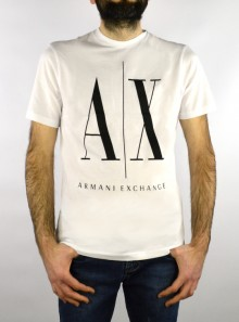 Armani Exchange T-SHIRT GIROCOLLO REGULAR FIT CON MAXI LOGO - 8NZTPA-ZJH4Z - Tadolini Abbigliamento