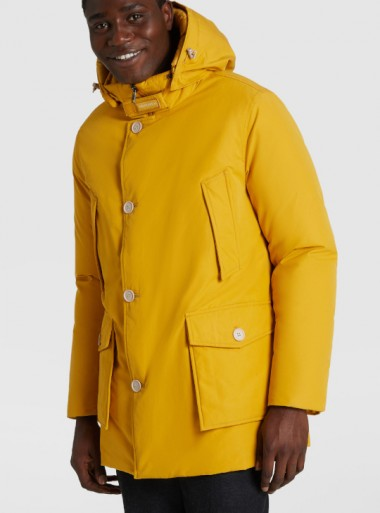 Woolrich ARCTIC PARKA ECOLOGICO IN BYRD CLOTH - CFWOOU0332MRUT2495 - Tadolini Abbigliamento