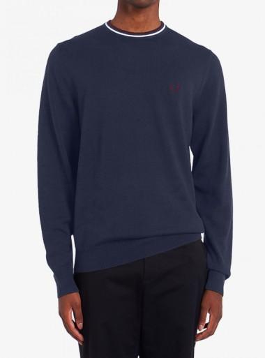 Fred Perry MAGLIONE GIROCOLLO CLASSICO - K9601 M11 - Tadolini Abbigliamento