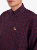 Fred Perry CAMICIA IN TARTAN INVERNALE - M9509 - Tadolini Abbigliamento