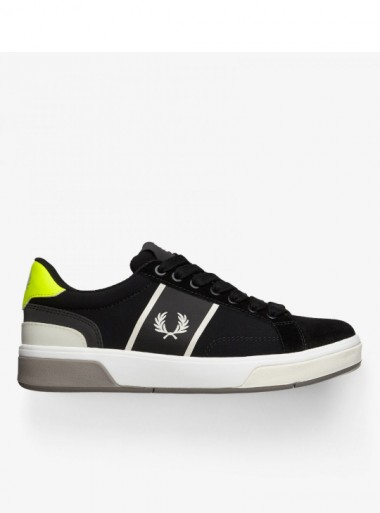 RIPSTOP AND SUEDE TENNIS SHOES
