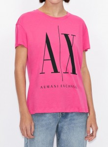 Armani Exchange T-SHIRT BOYFRIEND FIT CON MAXI LOGO - 8NYTCX-YJG3Z 1485 - Tadolini Abbigliamento