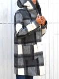 Kocca CAPPOTTO IN LANA CON STAMPA A QUADRI - CA3343AAQD1731 - Tadolini Abbigliamento
