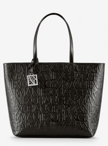 Armani Exchange BORSA SHOPPER CON LOGO ALL OVER - 942650 - Tadolini Abbigliamento