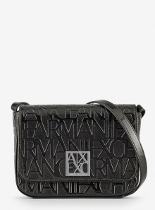 Armani Exchange BORSA A SPALLA CON LOGO ALL OVER - 942648 - Tadolini Abbigliamento