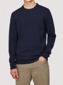ECO CASHMERE CHUNKY SWEATER