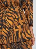 Vicolo ABITO CORTO A FANTASIA ANIMALIER - TW0273 - Tadolini Abbigliamento