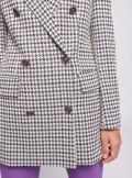 Vicolo GIACCA BLAZER DOPPIOPETTO A FANTASIA PIED DE POULE - TW0105 - Tadolini Abbigliamento