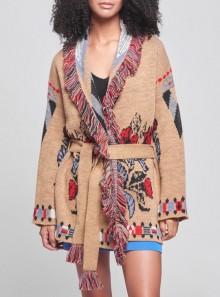 Vicolo GIACCA JACQUARD IN MAGLIA - 07162W - Tadolini Abbigliamento