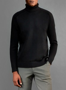 RRD KNIT COTTON PLAIN TURTLENECK - W20119 10 - Tadolini Abbigliamento