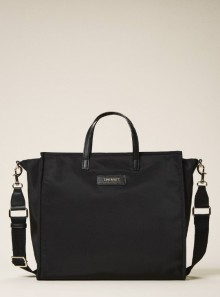 SATIN Twinset Bag SHOPPER WITH SHOULDER STRAP