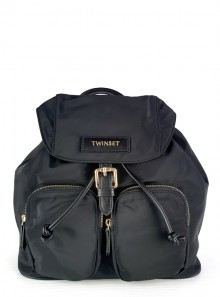 TECHNICAL SATIN BACKPACK