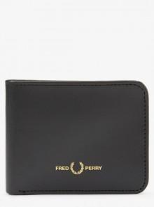 Fred Perry PORTAFOGLIO A LIBRO IN PELLE CON GRAFICA - L8278 - Tadolini Abbigliamento