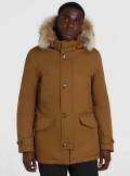 Woolrich PARKA IN COTONE LAMINATO COLLO ALTO - CFWOOU0282MRUT1974 - Tadolini Abbigliamento
