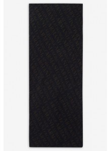 SCARF WITH ALL-OVER LOGO LETTERING
