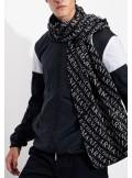 Armani Exchange SCIARPA CON SCRITTA LOGO ALL-OVER - 8NZ490-ZMO1Z 1510 - Tadolini Abbigliamento