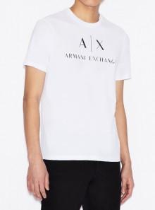 Armani Exchange T-SHIRT SLIM FIT - 8NZTCJ-Z8H4Z 1100 - Tadolini Abbigliamento