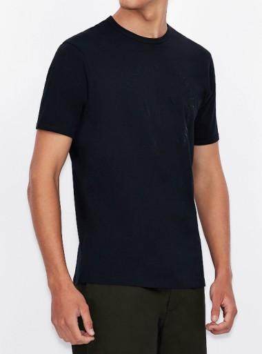 Armani Exchange T-SHIRT CON LOGO TONO SU TONO - 8NZTCD-Z8H4Z - Tadolini Abbigliamento