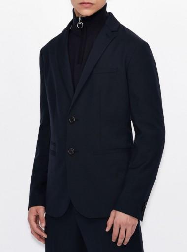 Armani Exchange BLAZER MONO-PETTO - 3KZG46-ZNJSZ - Tadolini Abbigliamento