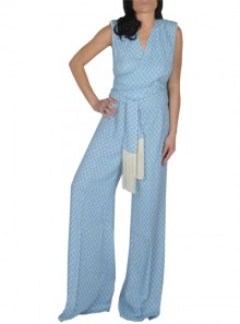 JUMPSUIT WITH DIAMOND PRINT
