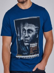 BARBOUR International B.INTL STEVE McQUEEN™ HERO T-SHIRT - MTS0810BL81 - Tadolini Abbigliamento