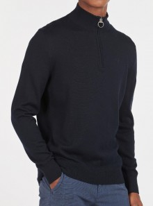 Barbour BARBOUR TAIN HALF ZIP - MKN1234NY51 - Tadolini Abbigliamento