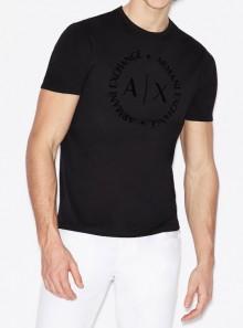 Armani Exchange T-SHIRT CON LOGO TONO SU TONO - 8NZTCD-Z8H4Z 1200 - Tadolini Abbigliamento