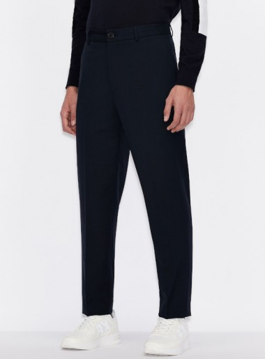 CLASSIC TROUSERS WITH PRESSED CREASE
