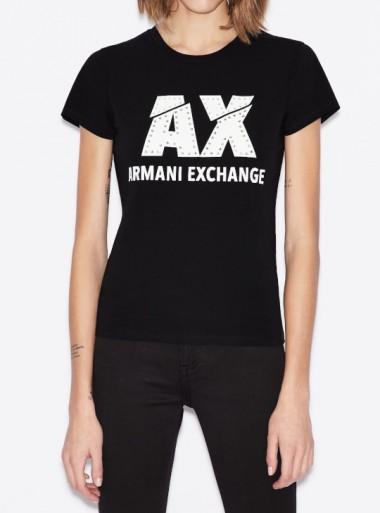 Armani Exchange T-SHIRT SLIM FIT - 8NYT86-Y8C7Z 1200 - Tadolini Abbigliamento