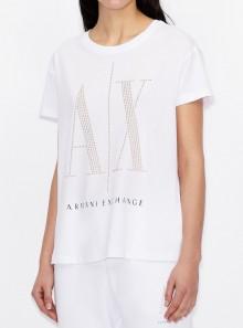 Armani Exchange T-SHIRT ICON PERIOD - 8NYTDX-YJG3Z 9130 - Tadolini Abbigliamento